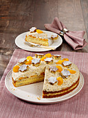 Poppyseed cake with mandarins