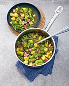Westphalian bean stew