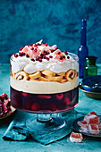 Turkish delight berry trifle