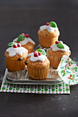 Mini muffins for Christmas
