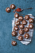 Spiced rocky road biscuits