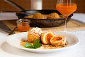 Wachau apricot dumplings