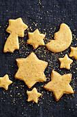 Golden nut stars