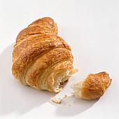 Croissant, broken