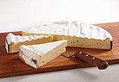 Vacherin Mont d'Or, French soft cheese made from raw milk