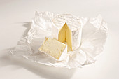 French soft cheese made from pasteurized cow's milk