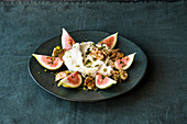 Cardamom labneh with honey and rose water