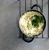 Mashed potatoes with cauliflower