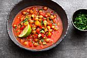 Oriental chickpea stew