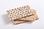 Amaranth crispbreads, with and without sesame seeds