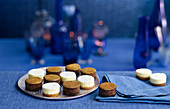 Tahitian Vanilla Jaffa Orange Cheesecakes