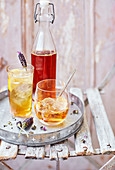 Perfect spritz with vermouth and gin