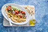 Hummus with flatbread
