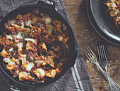 Cannelloni cooked in a Dutch Oven