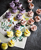 Schmetterlings-Cupcakes