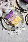 Lemon Lavender Petite Cakes