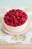 Mini raspberry cake