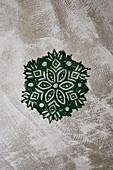 A green pattern
