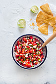 Pico de gallo (mexican sauce)