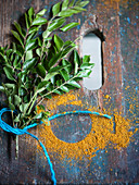 Curry leaves and powder