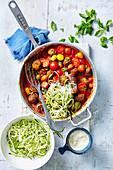 Zucchini and Meatballs