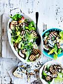 Pear and Walnut Salad with Tarragon Pesto