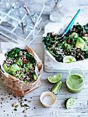 Quinoa, Kale and Coriander Salad