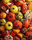Roasted Tomato with garlic and thyme