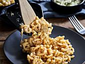 Mac And Cheese aus dem Raclette
