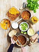 Batch Cooking (vorgekochtes Essen) für stressfreie Mahlzeiten