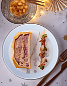 Pate En Croute with goose liver