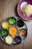 Zutaten für Khow Suey Suppe aus Birma