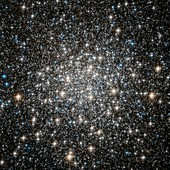 Messier 10 globular star cluster,Hubble image