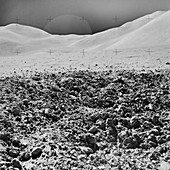 Apollo 15 lunar surface exploration,August 1971