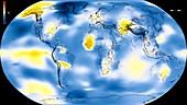 Global warming record,1911-1915
