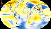Global warming record,1940-1944
