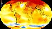 Global warming record,2010-2014