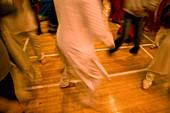 Women dancing during the celebration of Navratri