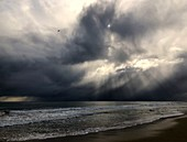 Sea and stormy sky,Western Australia