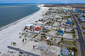 Hurricane Michael aftermath,Florida Panhandle,USA
