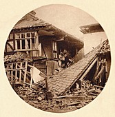 Air raid damage in Croydon, 1915 (1935)