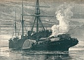 Collision of the 'Bywell Castle' and 'Princess Alice', 1878