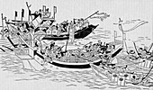 The attempted Mongol invasion of Japan, 1281 (1907)