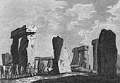 Stonehenge, Wilts, 1776