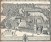 Magdalen College, Oxford, 1905