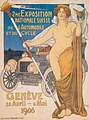 Swiss National Car and Bicycle Exposition, Geneva, 1906
