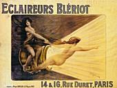 Advertisement for Bleriot headlamps, c1905