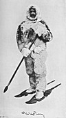 Peary in Arctic Outfit, 1910, (1928)