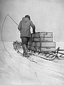 'Amundsen's Polar Transport', 1911, (1928)