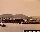 Deshima, Nagasaki, c1890-1900